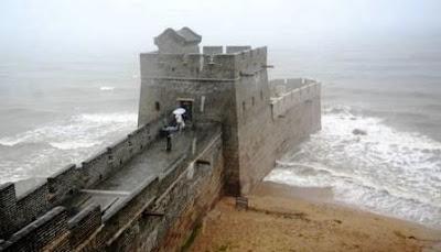 ujung timur tembok besar china