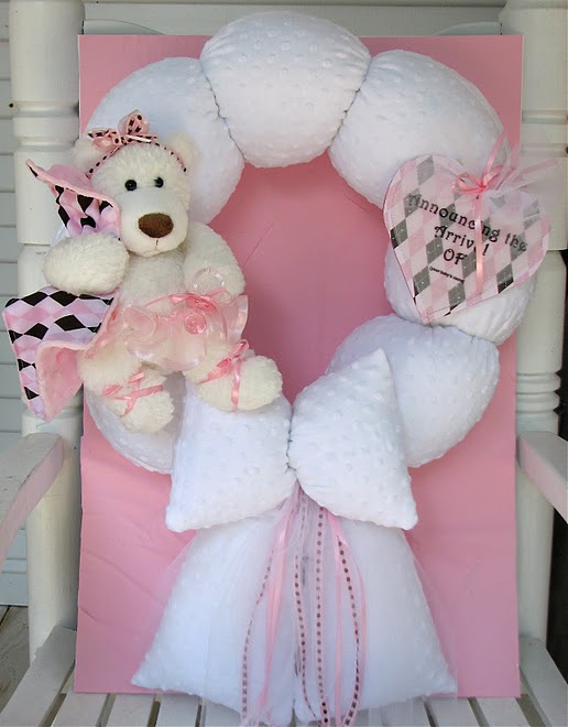 5. Custom White Teddy Bear Ballerina to Match Bedding