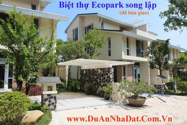 biệt thự ecopark song lập