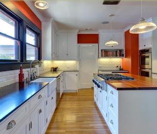 en esta imagen podemos ver lo que puede tener una cocina moderna en un rincn de la cocina podeos distribuir in espacio de la cocina para destinar el la
