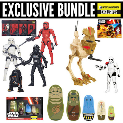 Entertainment Earth Exclusive Star Wars Holiday 2015 Bundles