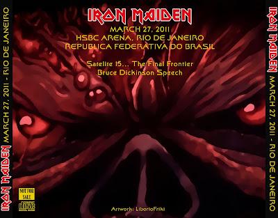 IRON MAIDEN 2011-03-27 Rio de Janeiro