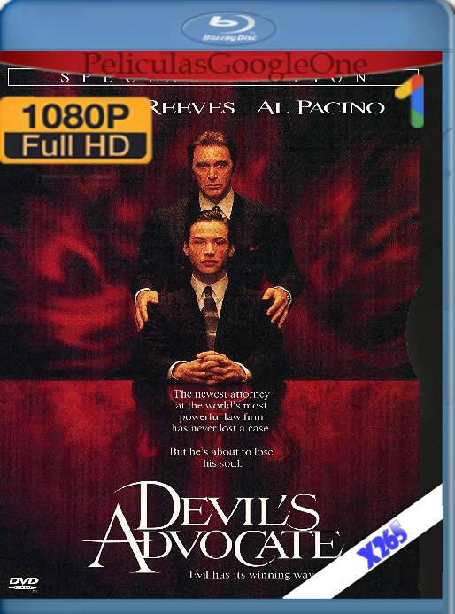 The Devil's Advocate (1997) x265 [1080p] [Latino] [GoogleDrive]