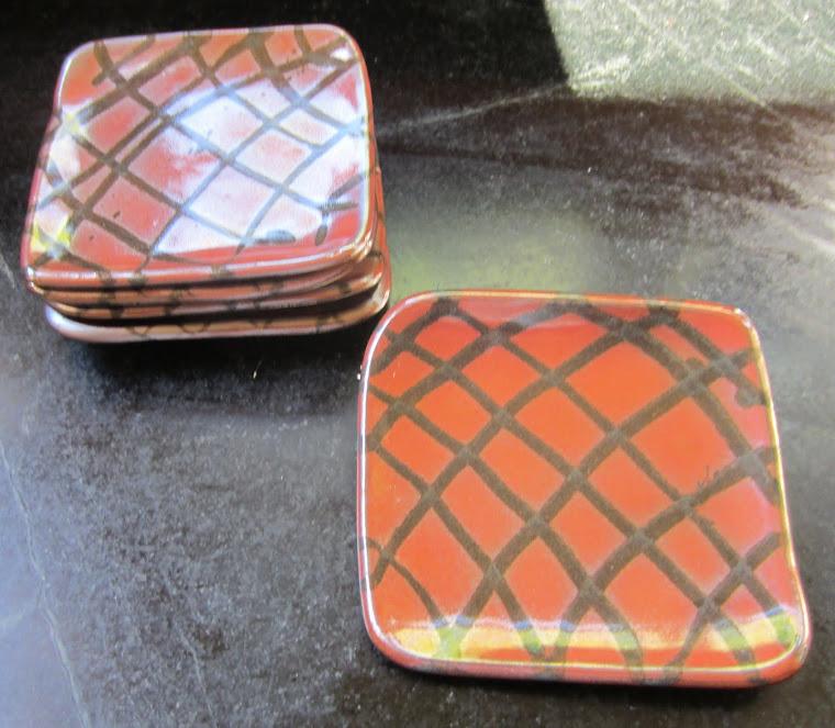 Square Tapas Plates