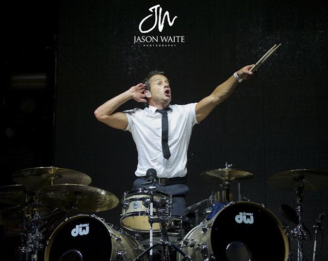 Drummer Duncan Phillips of Newsboys