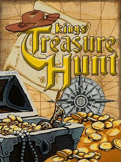 Screenshots of the Kings Treasure Hunt for java mobile, phone.