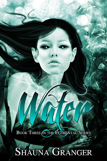 Book Cover Reveal: Water (Elemental #3) by Shauna Granger!