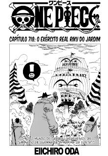 One Piece 718 Português Mangá leitura online