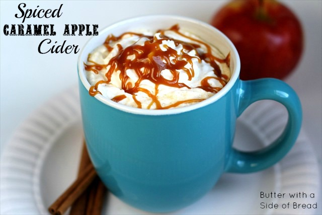 Spiced Caramel Apple Cider