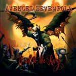 Capa do álbum Avenged Sevenfold – Hail To The King (2013)