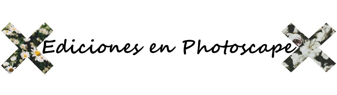 Ediciones Photoscape