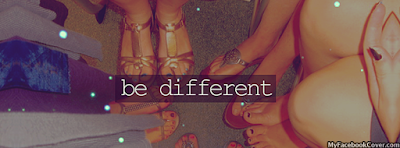 Be Different Facebook profile Cover