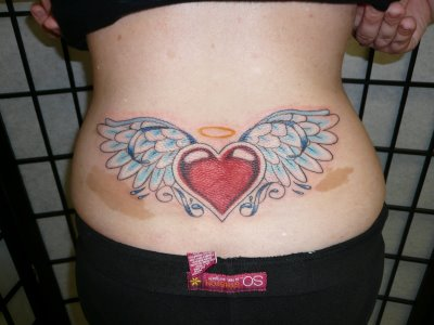 hearts tattoos for girls