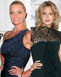 Jaime Pressly, Estella Warren, catfight, celbrity