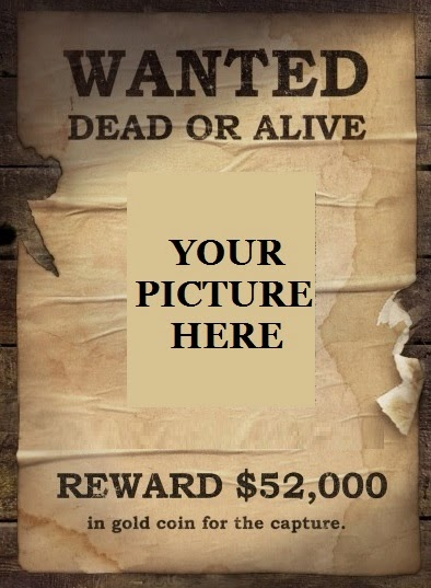 THE SHIPWRECK SOUL: Wanted Dead or Alive