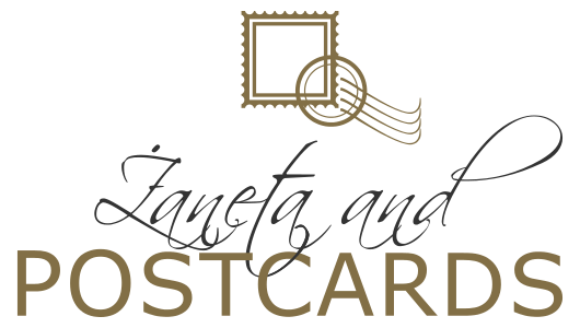 Żaneta and postcards
