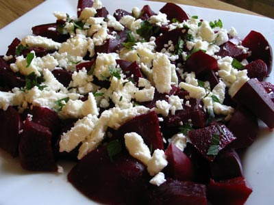 Beet and Feta Salad   Lisa's Kitchen   Vegetarian Recipes   Cooking ...