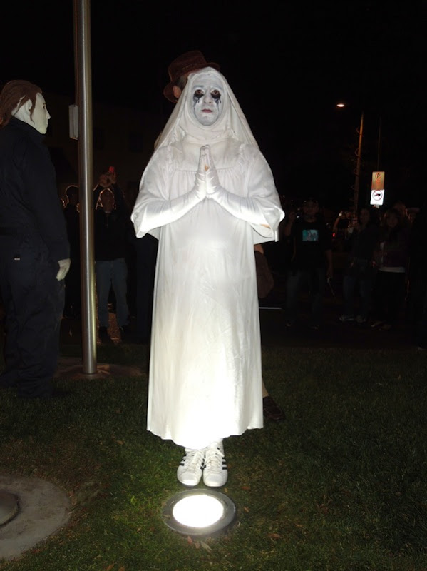 American Horror Story nun costume West Hollywood Halloween Carnaval