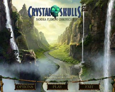 The Crystal Skull - Sandra Fleming Chronicles