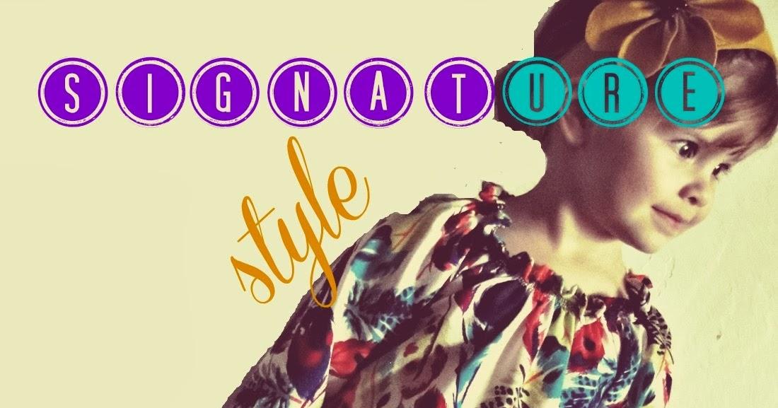 Artbella: week 4: Signature Style