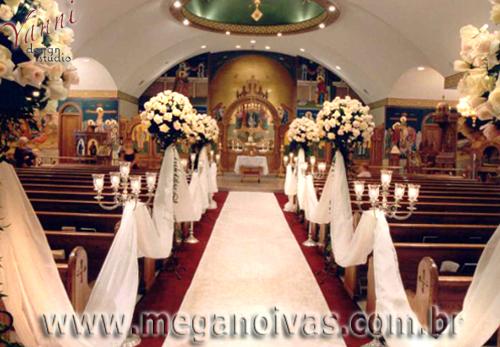 decoracao branca casamento:Solteiras Noivas Casadas: Decoração do Casamento: Branco