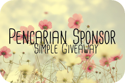 Pencarian SPONSOR Simple Giveaway by Licha