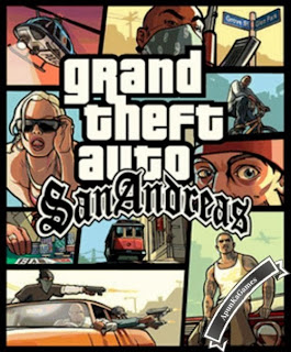 Grand Theft Auto (GTA) San Andreas Cover, Poster