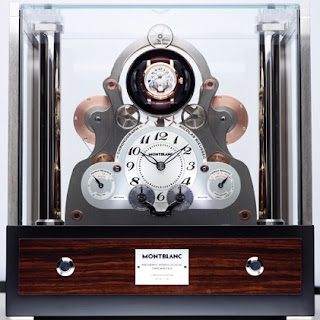 Horloge Montblanc TimeWriter Nicolas Rieussec