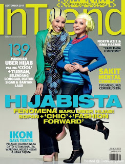 Featured In Intrend Hijabista Issue