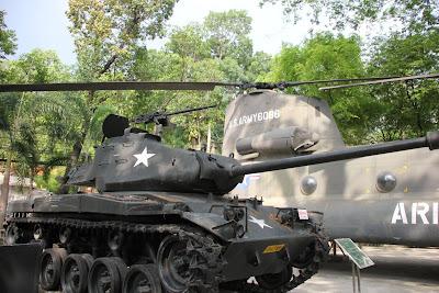 Tanque M.41 Americano de Vietnam