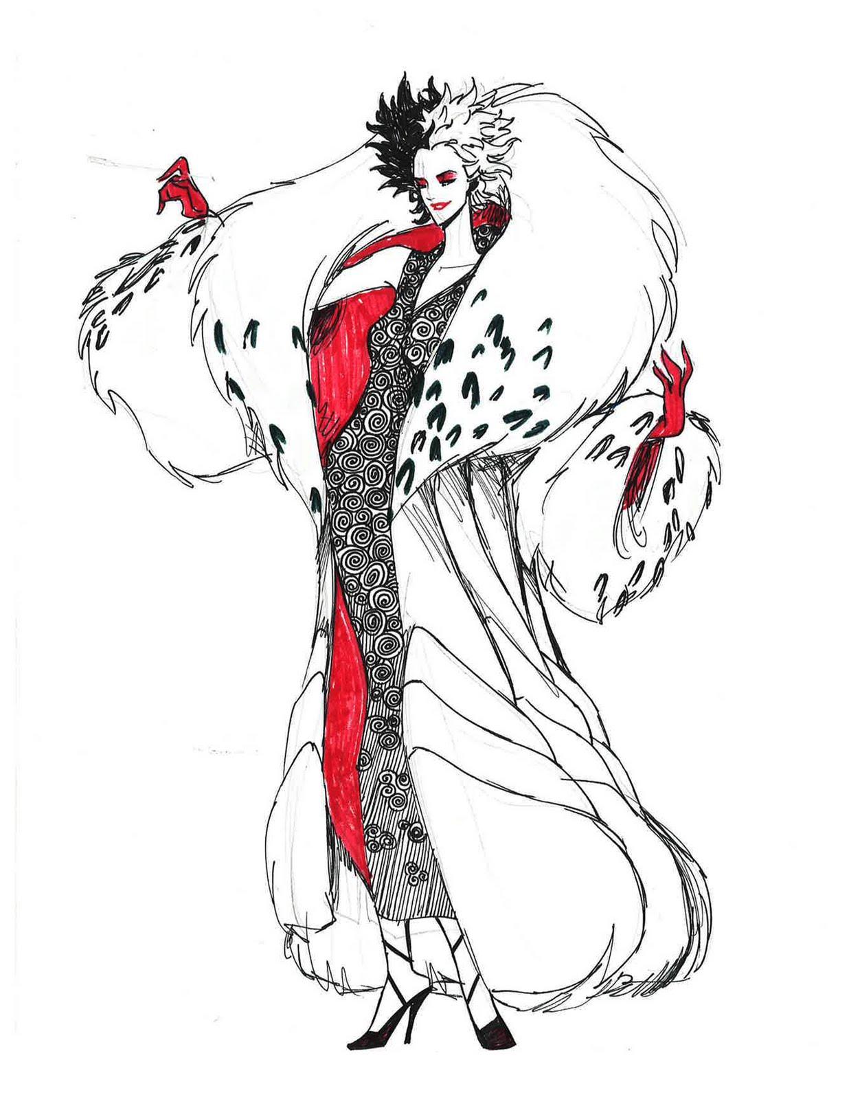 Cruella de vil fashion 21