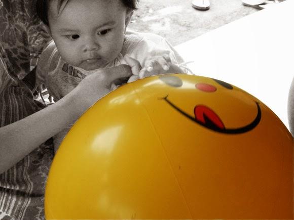 Balon Smiley