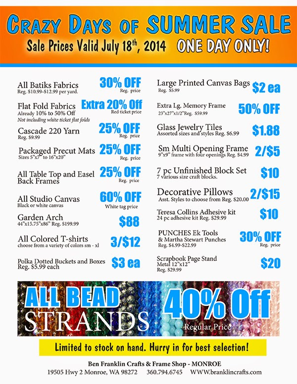 All Bead Strands are 40% off! - great savings on ton of items!