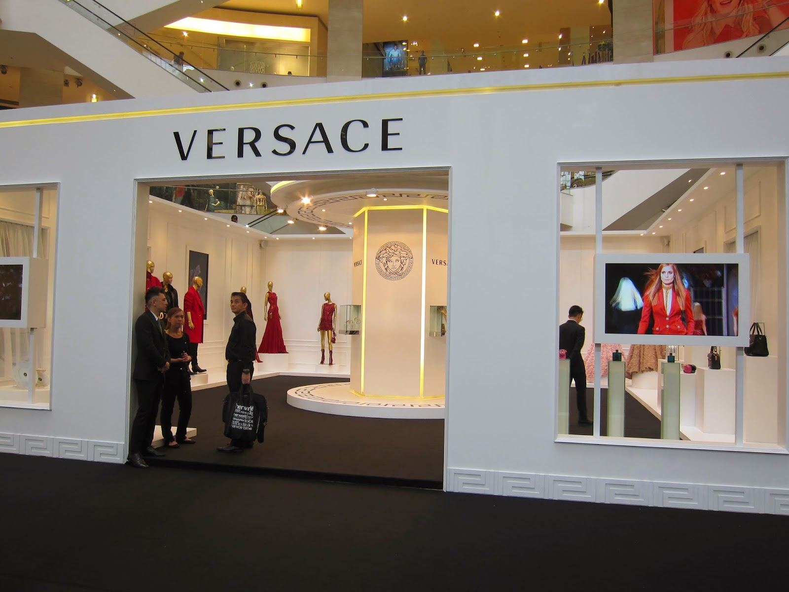 Event Post: Versace Atelier Exhibit