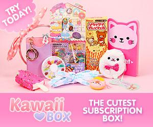 Clube de assinatura KawaiiBox