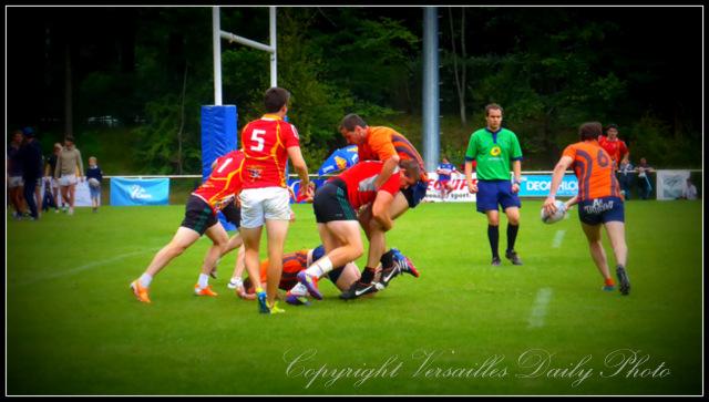 Tournoi 7 de coeur Versailles rugby