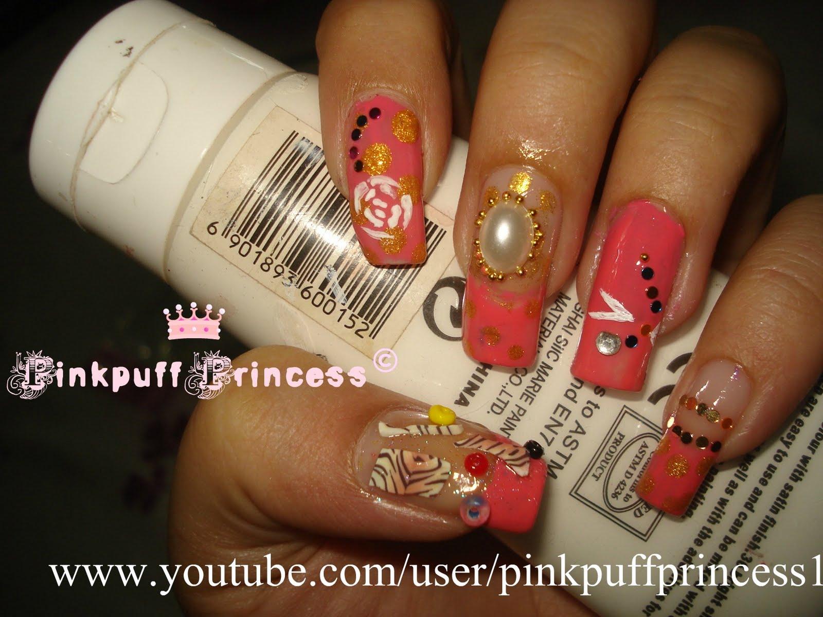 Pinkpuff Prince$$ Blog: Nail Art Tutorial Playlist