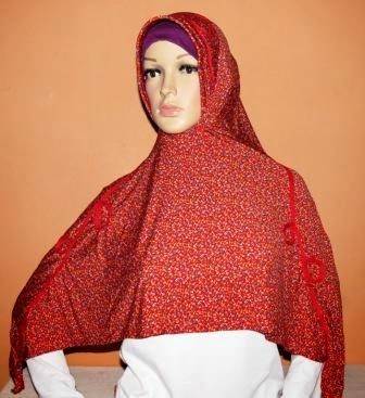 Jilbab Motif Fashion MF162
