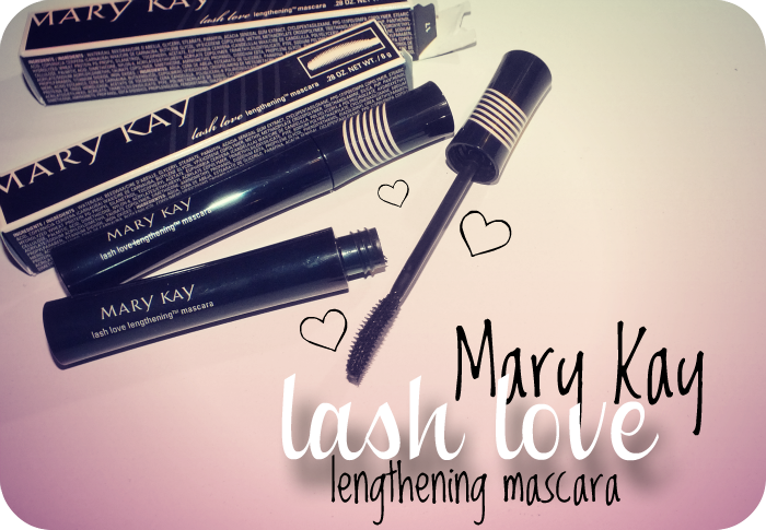 mary kay lash love lengthening mascara i know all the words. Black Bedroom Furniture Sets. Home Design Ideas