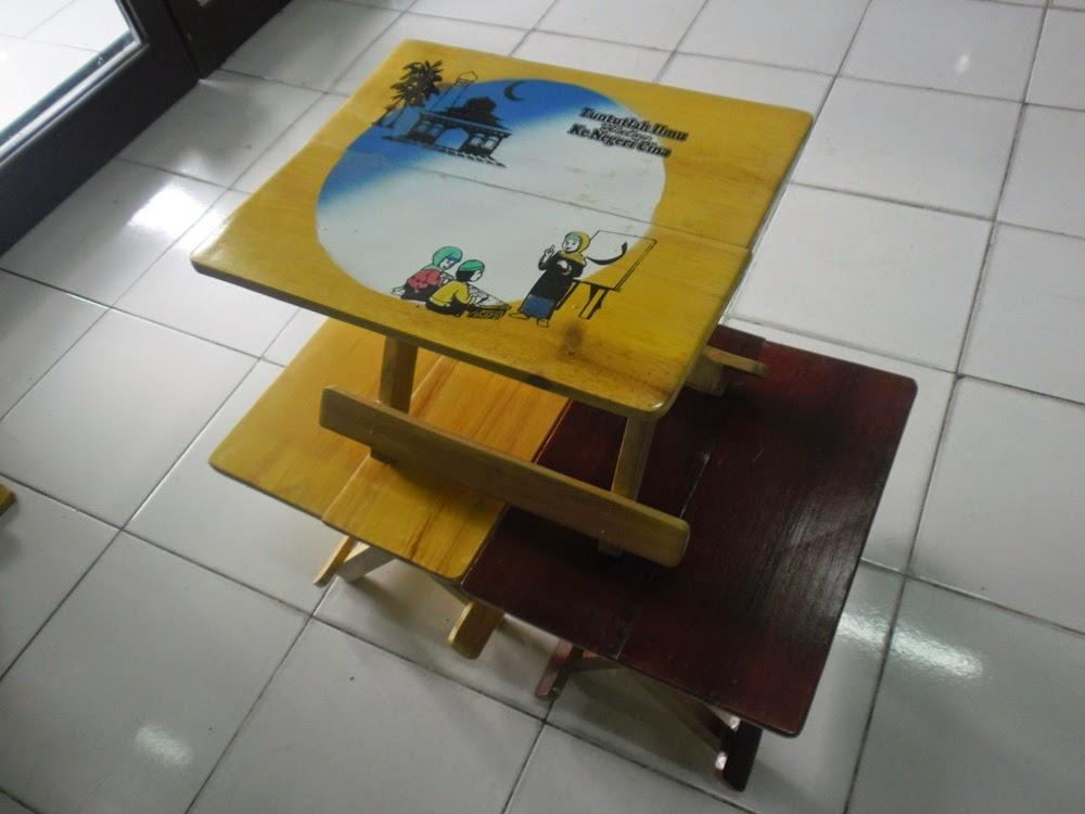 meja kayu lipat murah