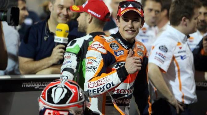 Hasil Peringkat Moto GP di Sirkuit Losail Qatar - Marc Marquez The Winner!