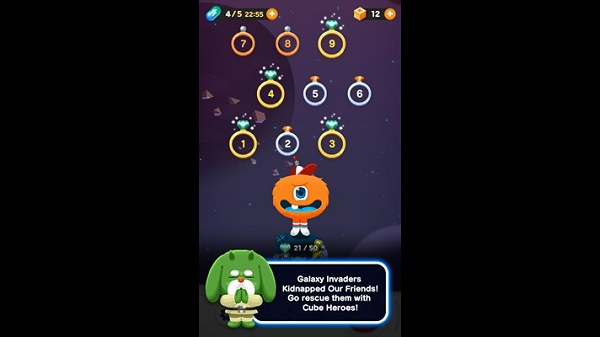 LINE CubeHeroes for Windows Phone