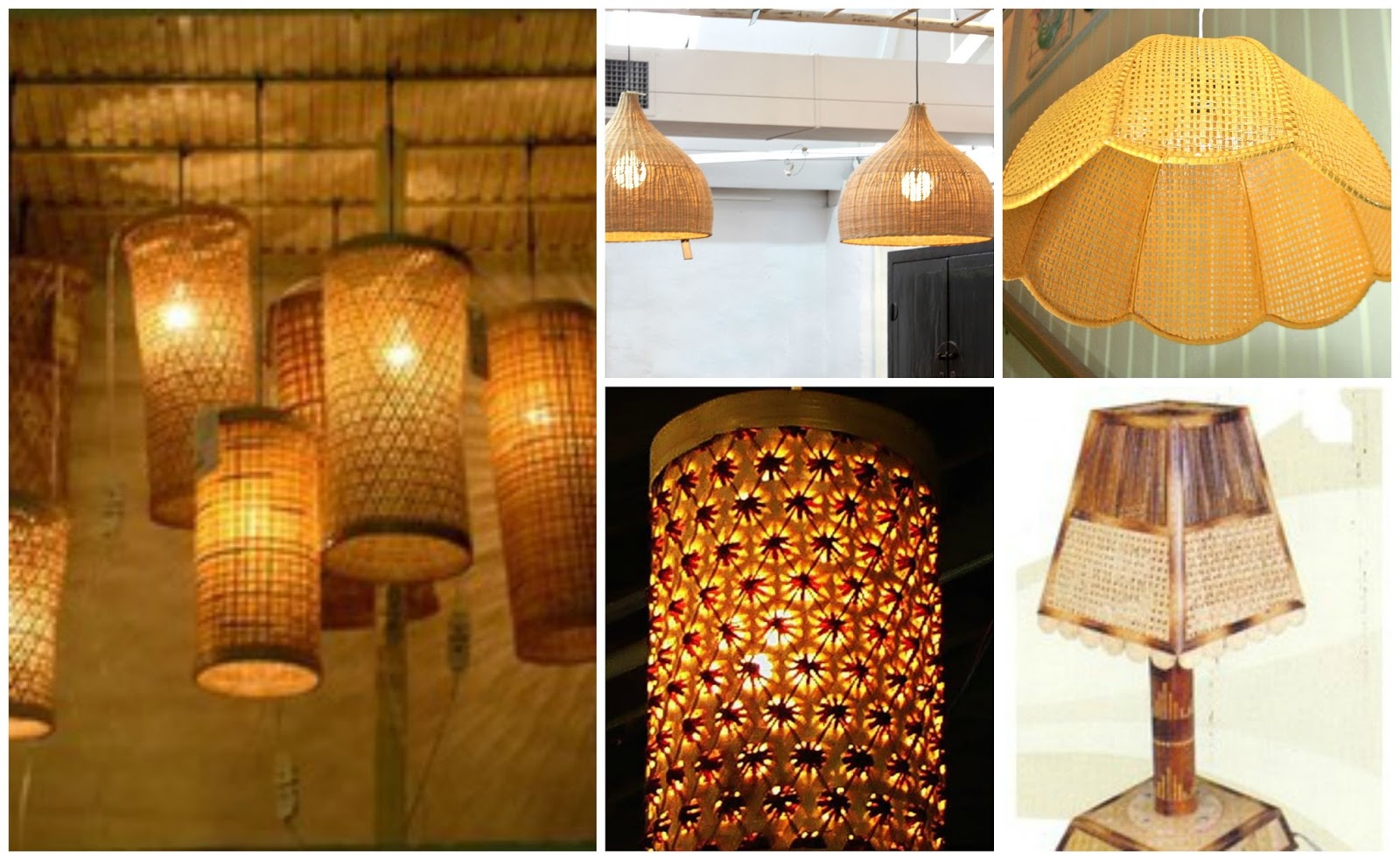 Cane Craft Allied Industries Cane And Bamboo Lampshades For A