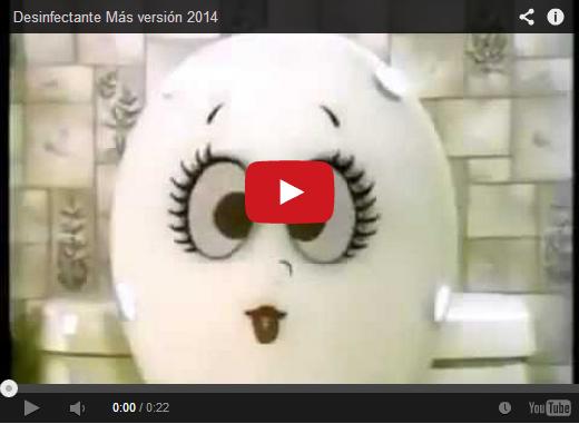 La nueva cuña del Limpiador de Pocetas MAS versión 2014