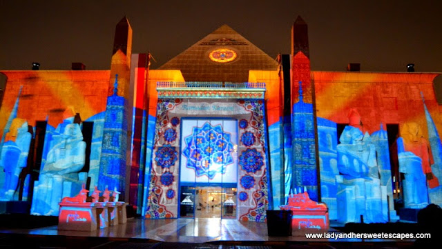 Ramadan Light and Sound Show 5 at Wafi