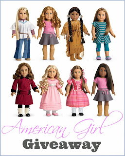 Enter to win the American Girl Giveaway Event. Ends 4/1.