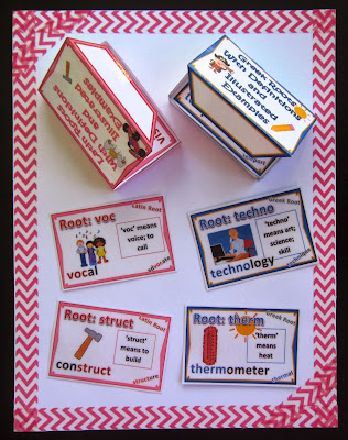 Greek and Latin Roots - Cards