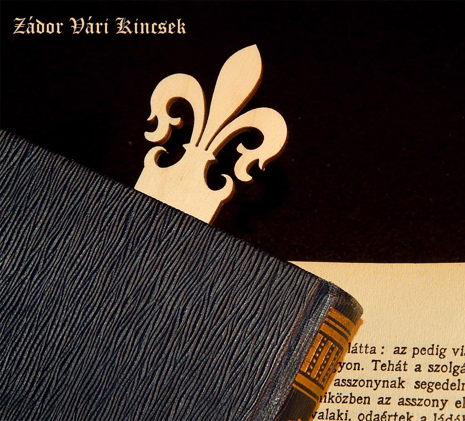 Fa könyvjelzők / Wood bookmarks