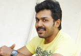 Karthi becomes the biscuit boy!