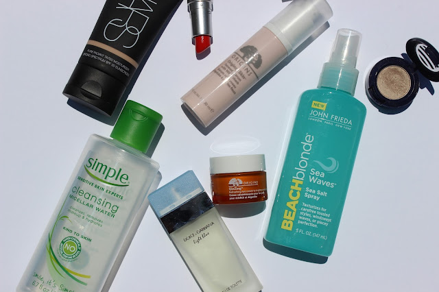 Nars, Simple, Micellar Water, MAC, John Frieda, Beach Blonde, Dolce and Gabbana, Origins